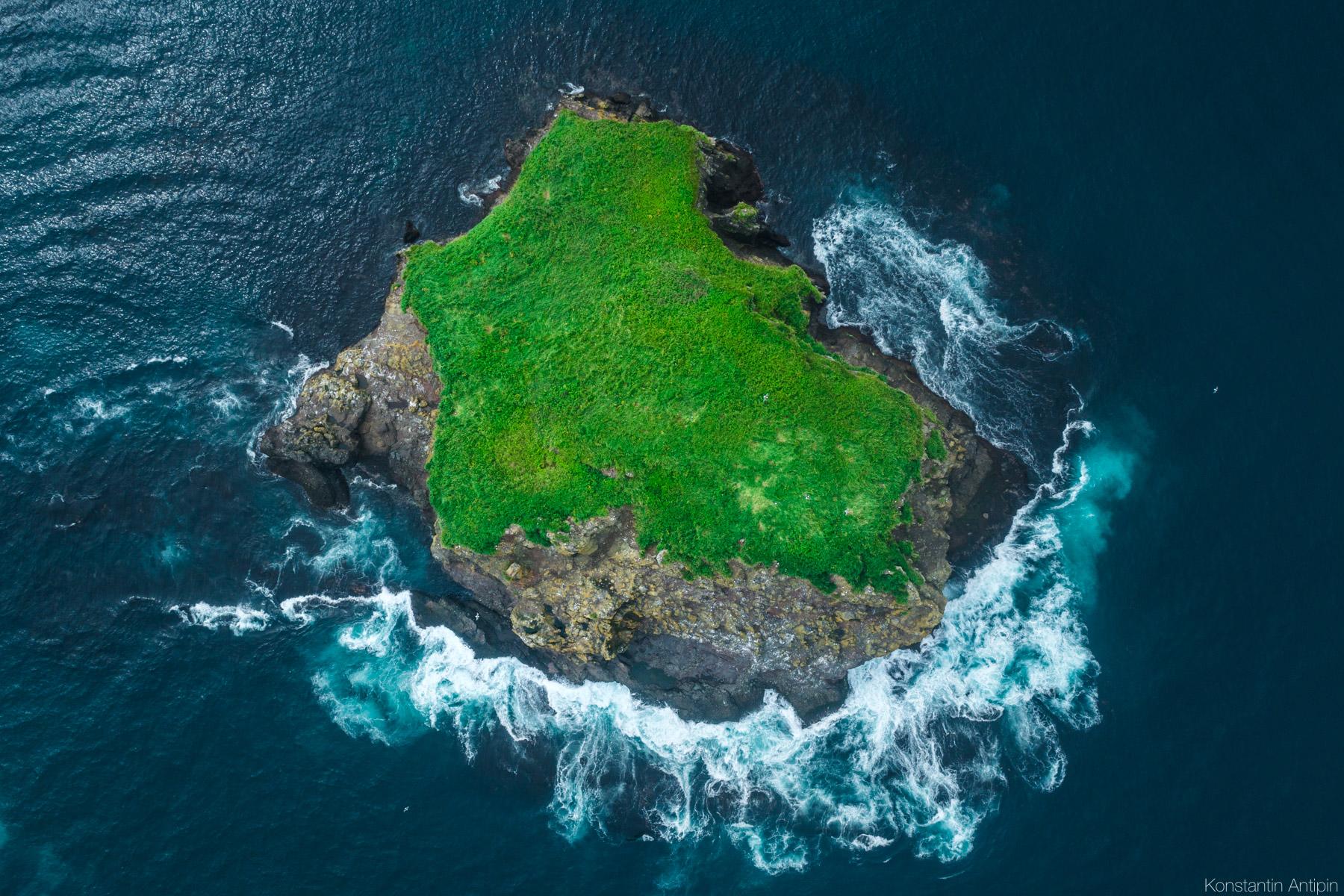Курильские острова вид сверху фото