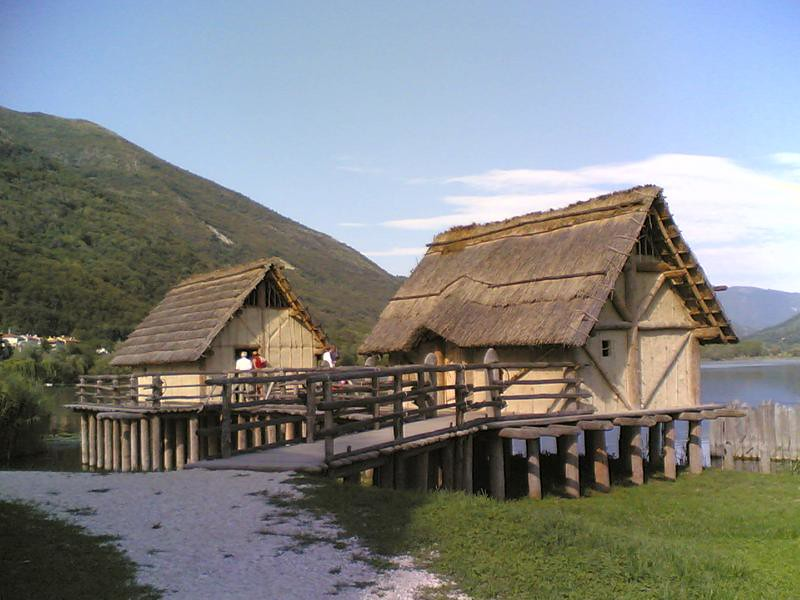 Prehistoric dwellings