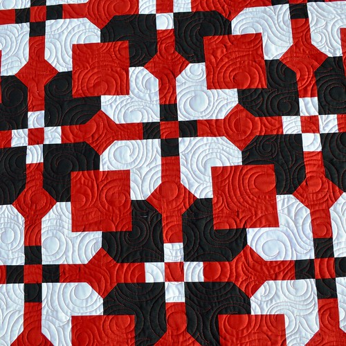Fat Eighth Fruit Cake - Melissa Corry - Kona Solids - Quilting | by Melissa @ Happy Quilting