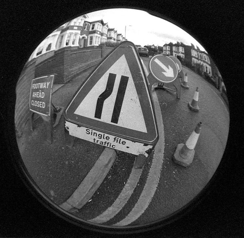Fish Eye Road Signs | by pentaxpete