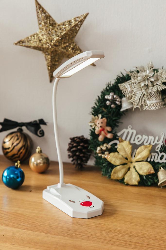 聖誕節新款聖誕小檯燈