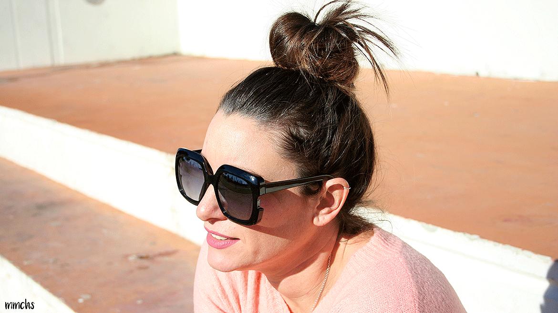 gafas XL de mujer en negro