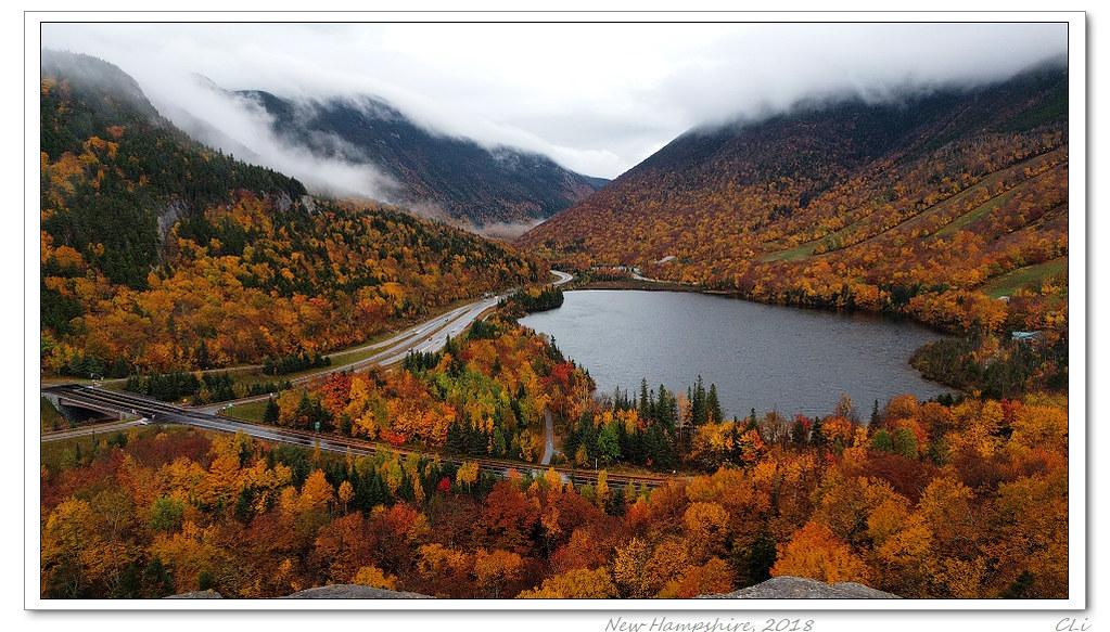 仙境在人間-2 新罕布希爾州美人遲暮的秋色