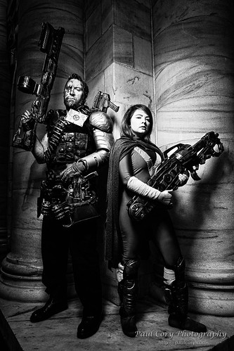 Cable and Hope 2 B&W | by Paul Cory