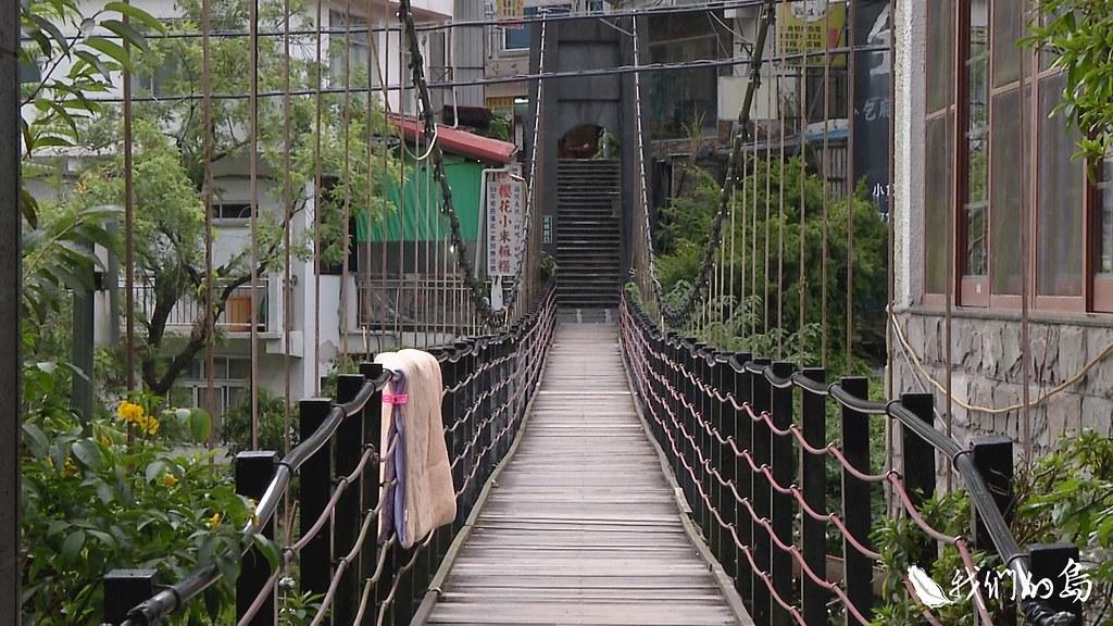 通往廬山溫泉露頭的小徑,如今蕭條。