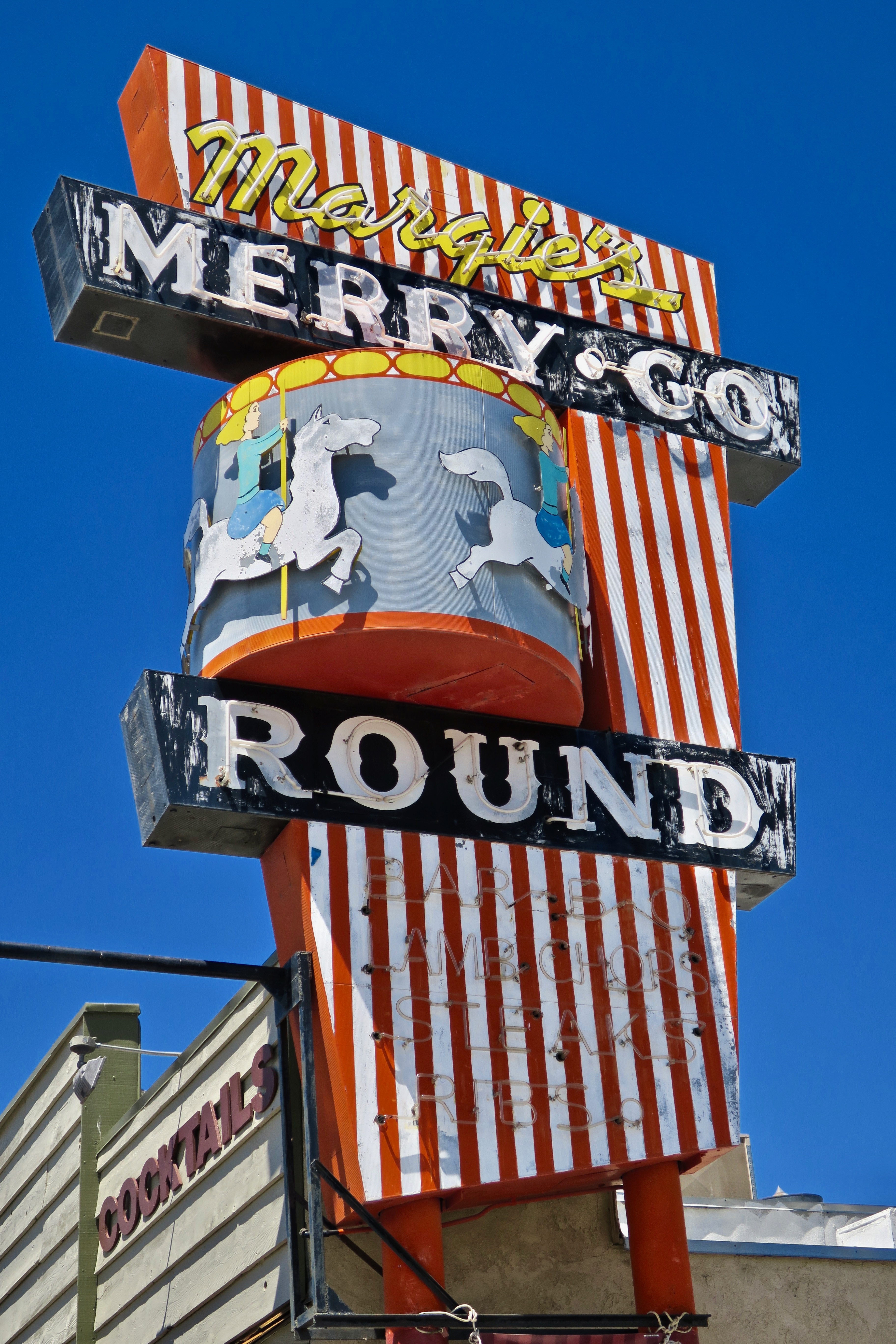 Margie's Merry-Go Round - 212 South Main Street, Lone Pine, California U.S.A. - July 30, 2017