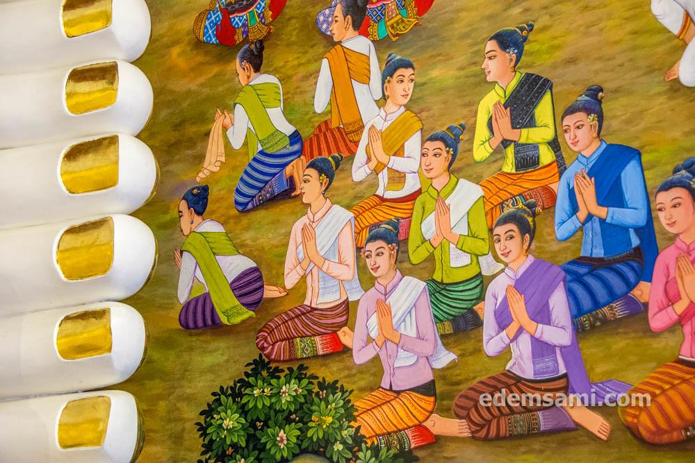Красивый храм Таиланд Чиангмай