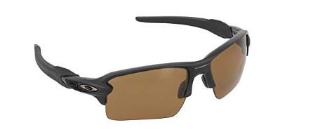 3db032fee3 ... Oakley Mens Flak 2.0 XL OO9188-07 Rectangular Sunglasses