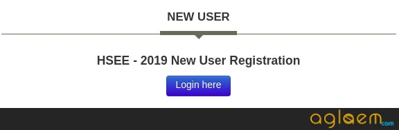 HSEE 2019 Application Form - Application Status (Available)