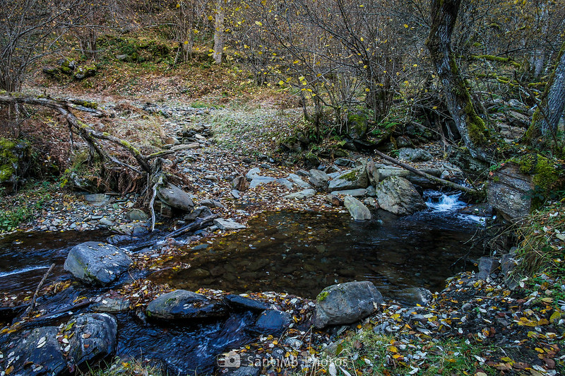 Punto de cruce del río de Torán