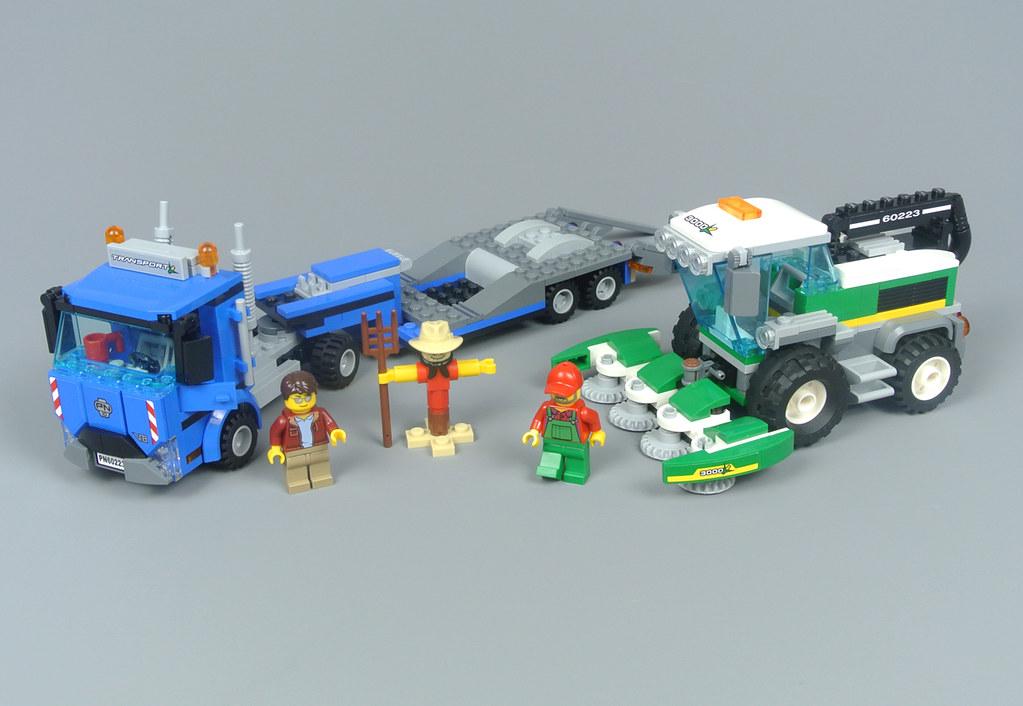 Lego Miniature Harvest Instructions Only Farming MOC