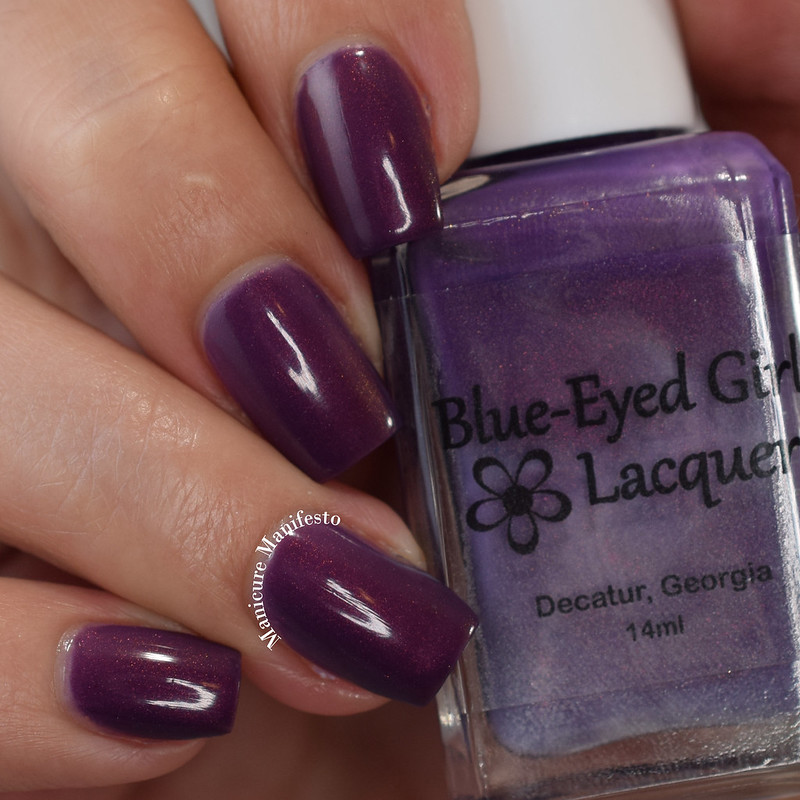 Blue Eyed Girl Lacquer In The Dawning Light review