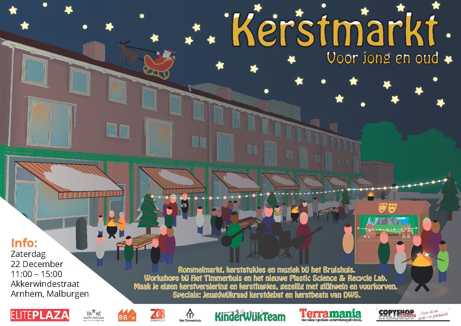 Zaterdag 22 December Akkerwindestraat In Kerstsfeer Malburger