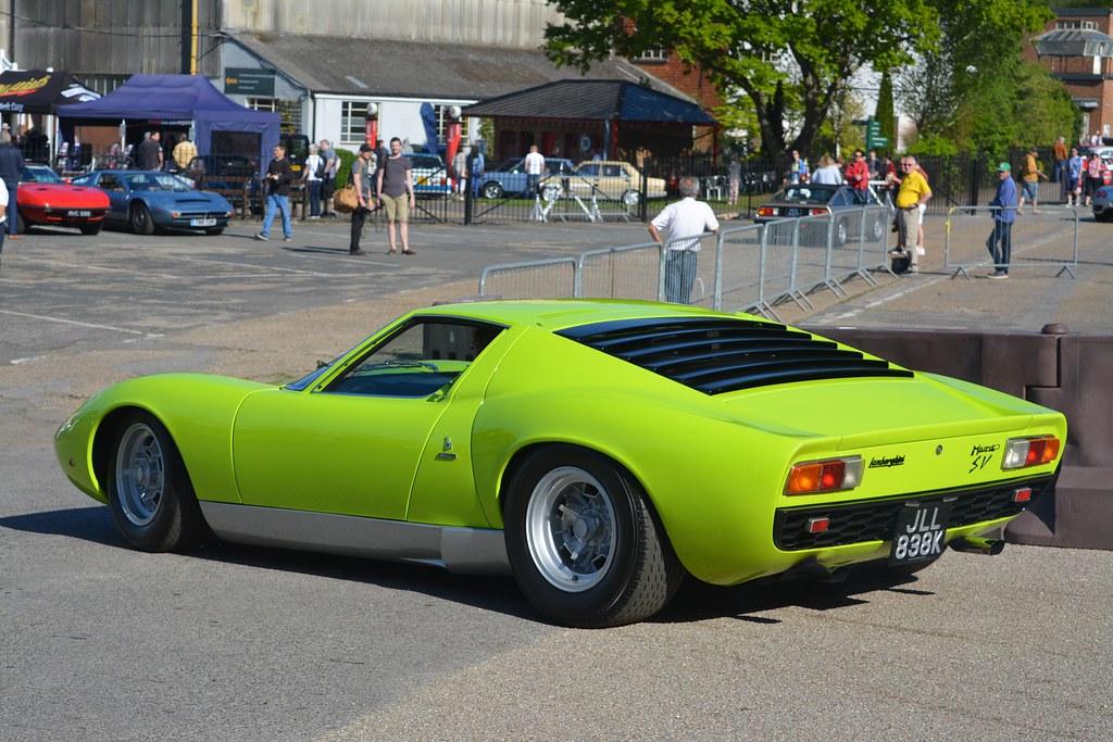 Lamborghini Miura P400 Sv Adrian Flickr