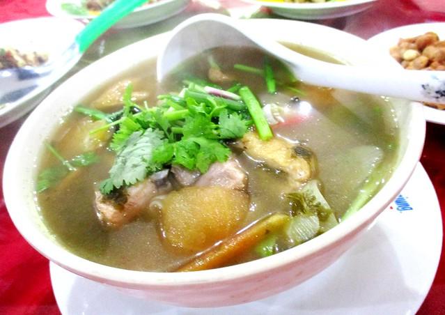 Chao chai soup