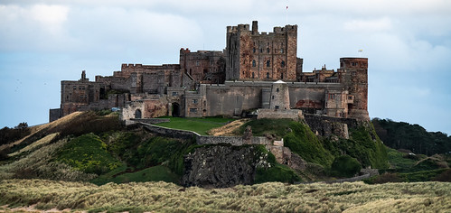 Bamburgh Castle, just south of Lindisfarne, England. | by rosskevin756