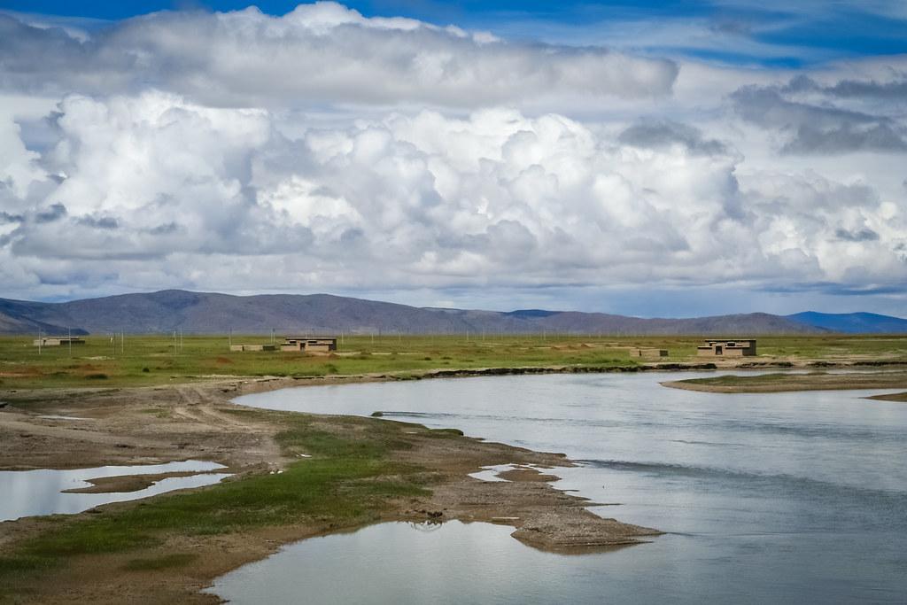 Beautiful landscape of Western Tibet
