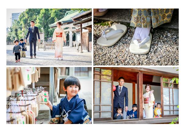 知立神社で七五三 3歳の男の子 愛知県知立市