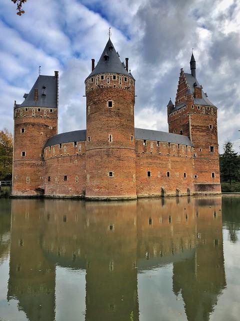 Castillo de Beersel en el Brabante Flamenco (Flandes, Bélgica)
