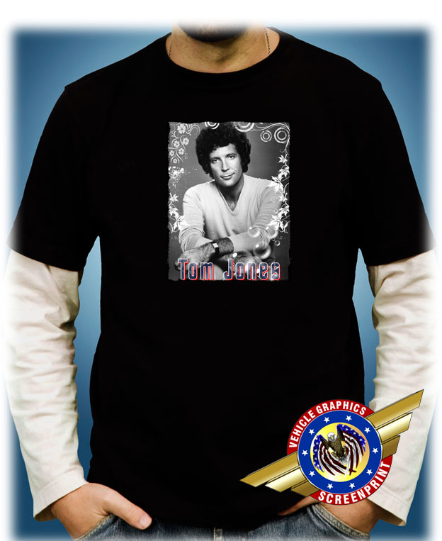 "Movie Star/"" Personalized T-shirts Tom Jones /""Rock"