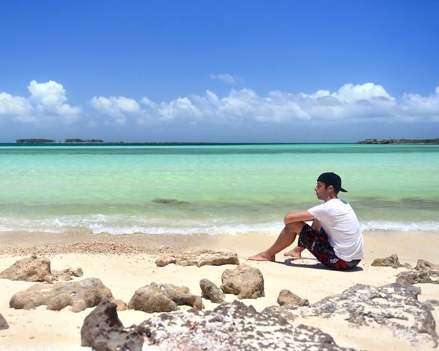 Recorrido por Cuba que me llevo a una playa desierta
