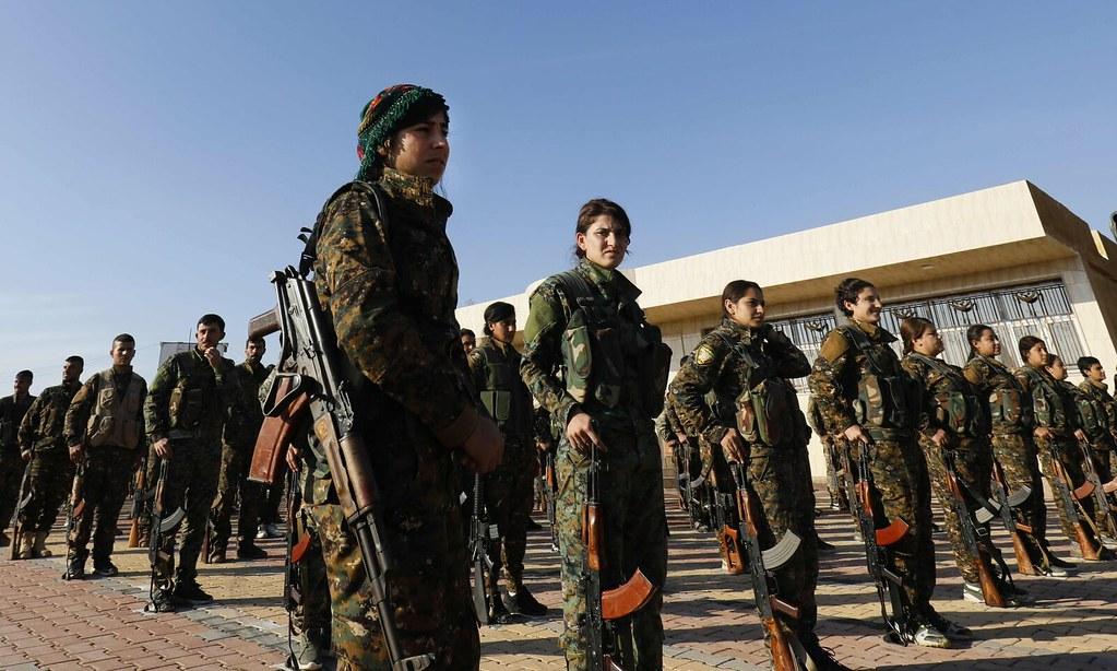 叙利亚亚民主力量。(图片来源:Delil Souleiman/AFP)