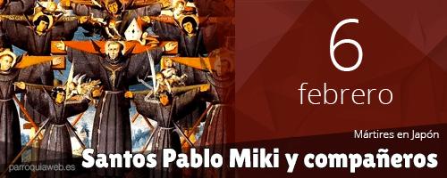 Santos Pablo Miki y compañeros