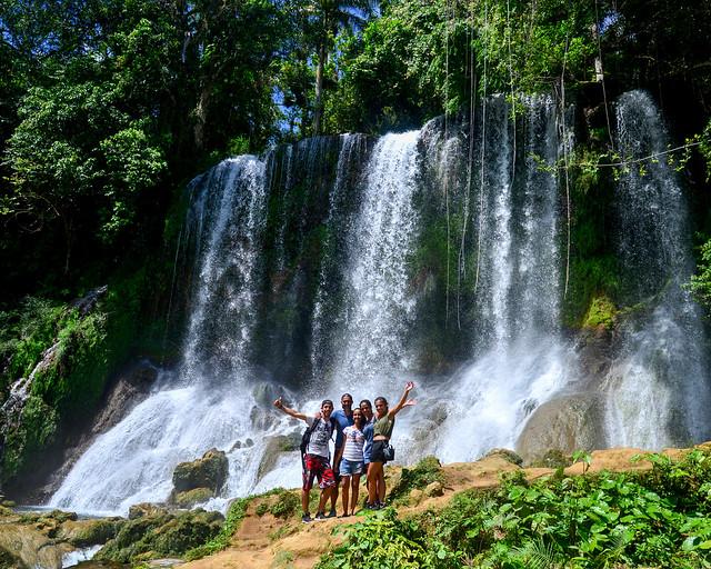 Cascadas de El Nicho al Este de Cuba