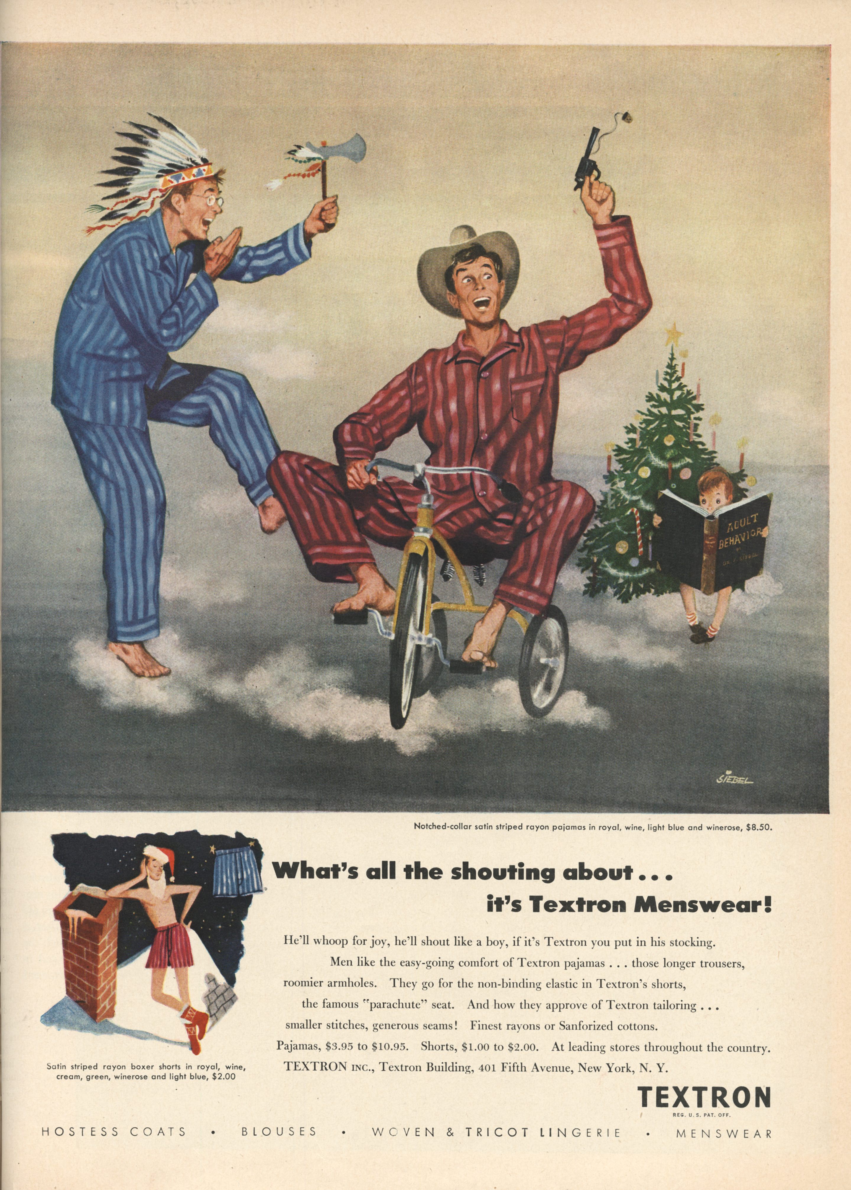 Textron - published in Life - December 13, 1948