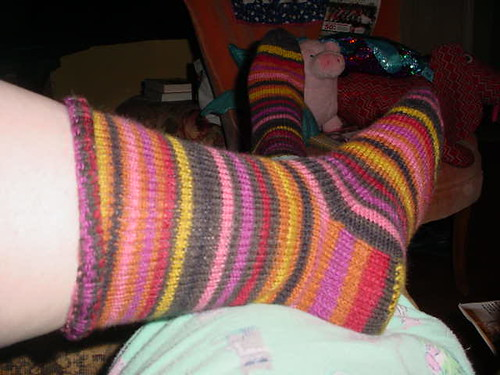 new striped socks 2 | by FillyjonkKnitter