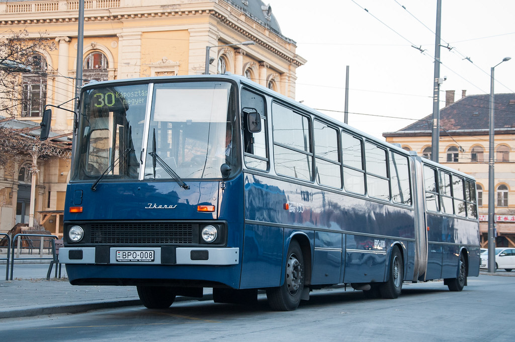 Ikarus 280 Bpo 008 At Keleti Pu Hungary 3 Aczadam Flickr