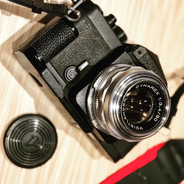 Dynarex 90mm f3.4 Heliar異端