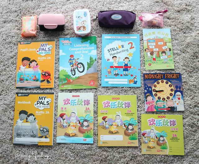 Primary School Bag Contents