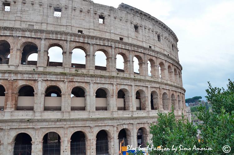 E para terminar esse passeio fui rever o lindo Coliseu