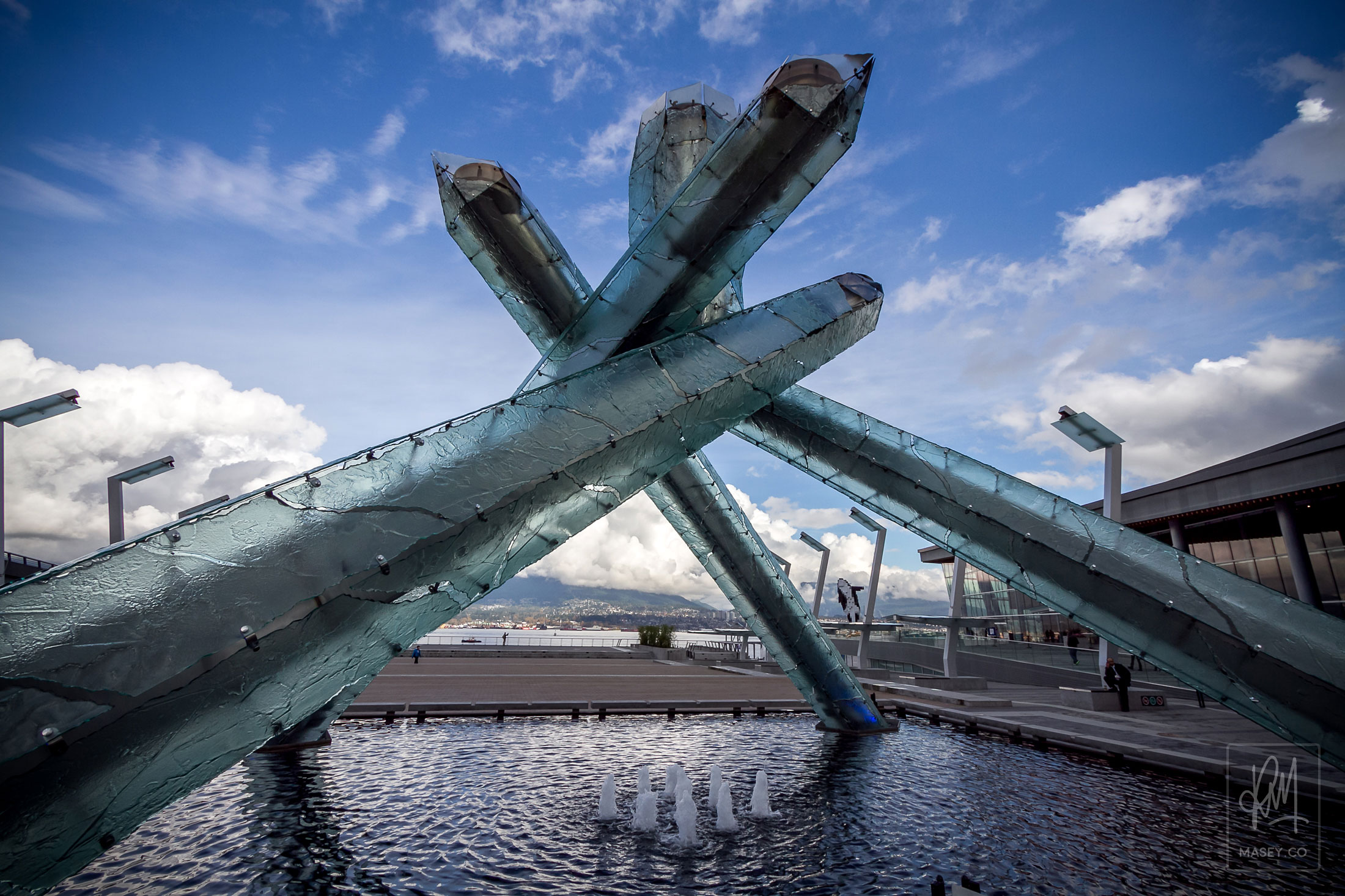 2010 Vancouver Winter Olympics cauldron