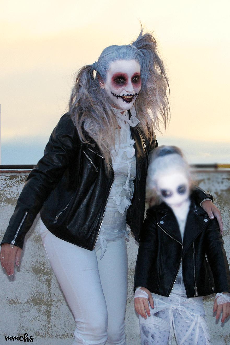 disfraces momias zombies madre e hija iguales Halloween