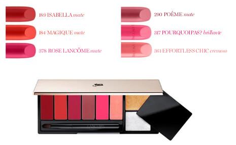 Lancome Lip Art Palette