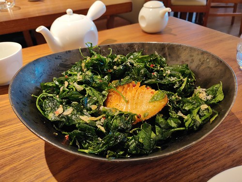 Arctic Char with Crispy Baby Spinach
