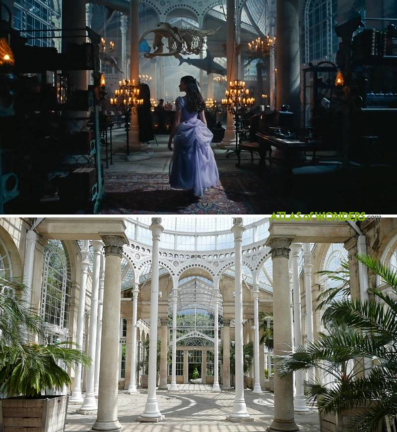 The Nutcracker and the Four Realms locations