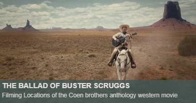 Where was The Ballad of Buster Scruggs filmed