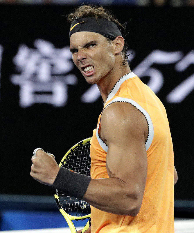 Nadal勇闖澳網決賽。(達志影像資料照)