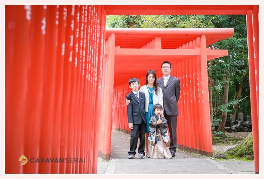 深川神社で七五三(愛知県瀬戸市)