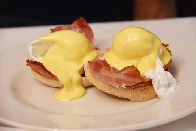 Eggs Benedict, Crianlarich Hotel, Scotland
