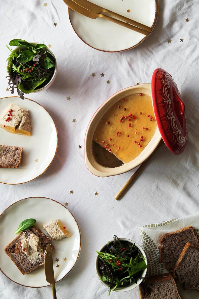 Mousse de foie gras végétal maison