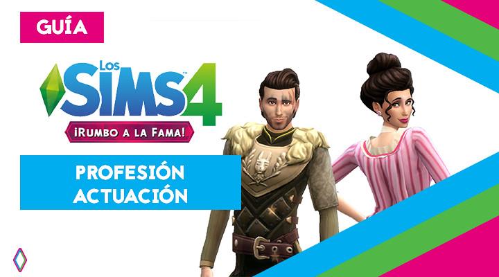 Profesión Actuación en Los Sims 4: guía completa