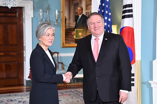 Secretary Pompeo meets with Republic of Korea Foreign Minister Kang Kyung | by U.S. Department of State