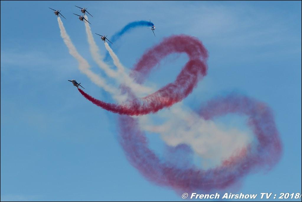 Patrouille de France Aerotorshow 2018 – Fête aérienne de Valence Chabeuil Canon Sigma France contemporary lens Meeting Aerien 2018