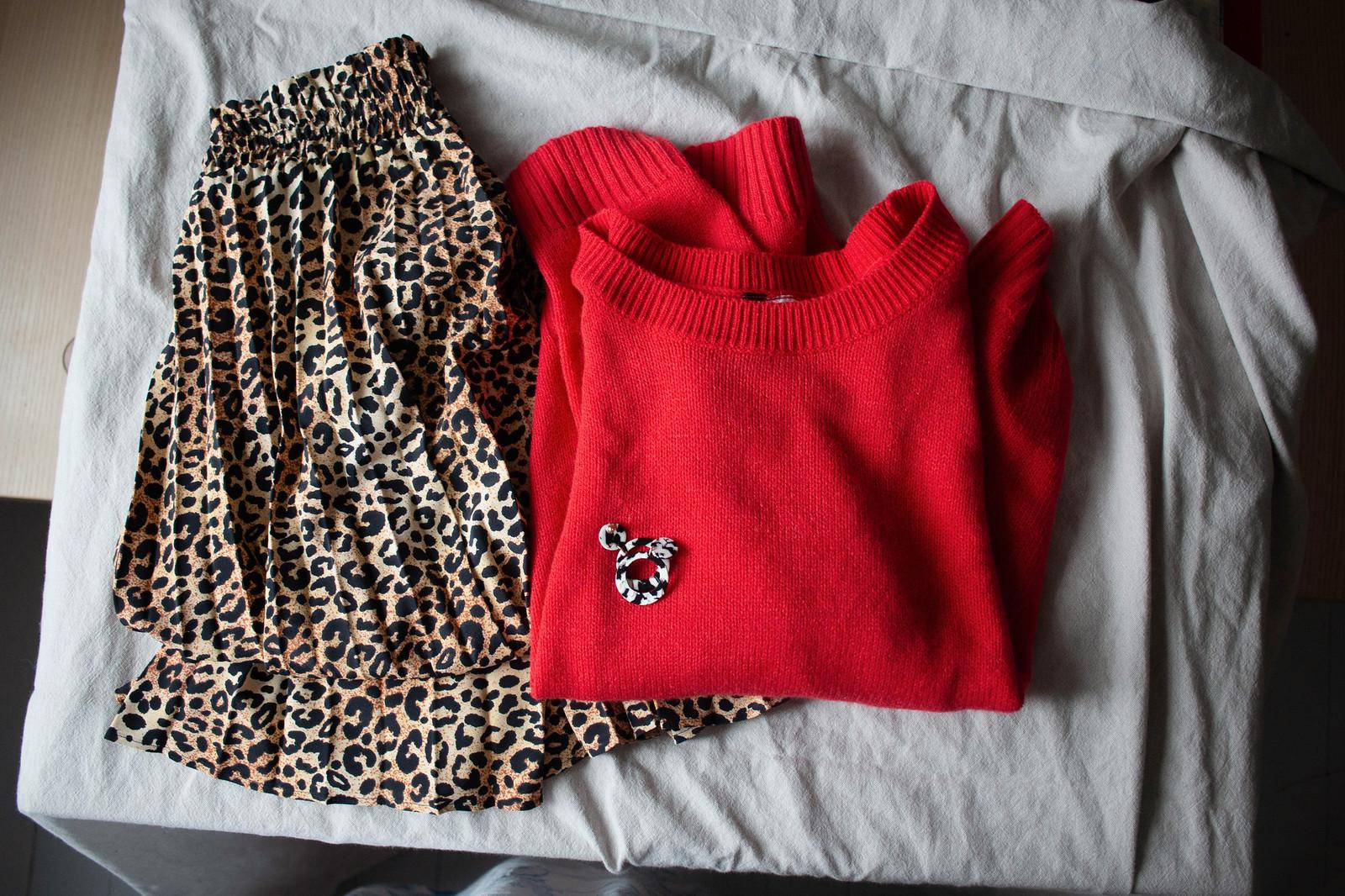 8fcc0cb41352 jag har letat efter en leopardmönstrad kjol ganska länge nu. efter en som  inte är så brun utan lite gladare. hittade den plus klarröda tröjan  häromdagen på ...