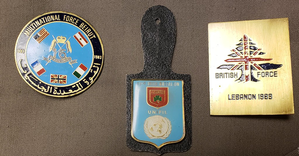 British & Commonwealth Multi- National Force Lebanon Badges