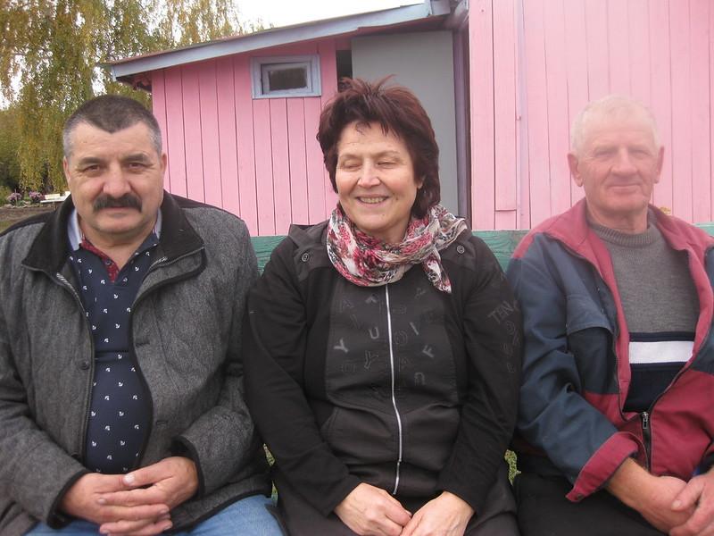 Митрофанов Иван его жена Митрофанова Рая и Копылов Иван